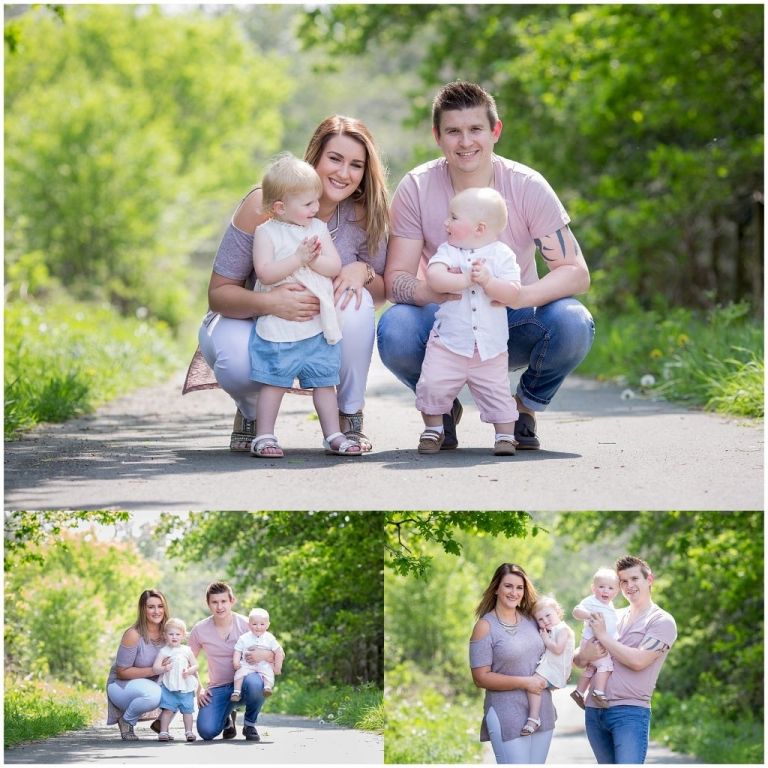 Family Photoshoot Outdoor