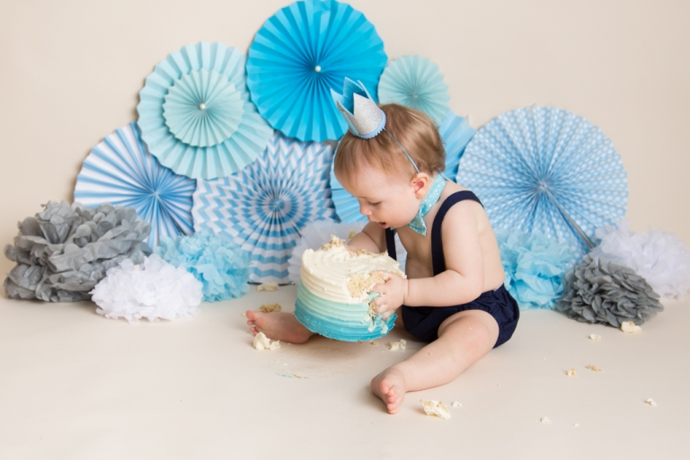 Cake Smash & First Birthday Photography in Pontypridd, Near