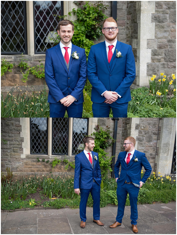best men at a wedding